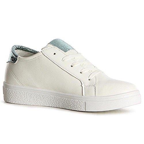 Sport Chaussures Menthe Topschuhe24 Sneaker De Femmes Vert U0MqOq4