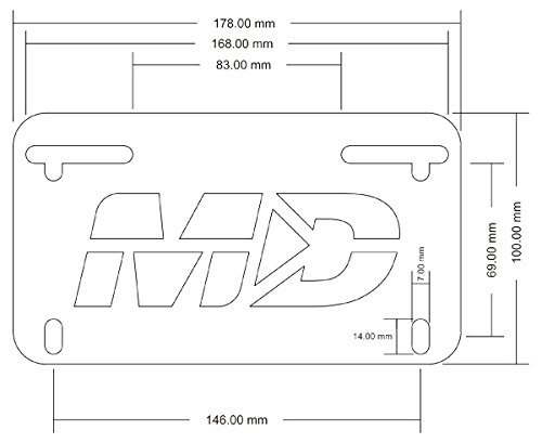 Fender Eliminator Kit for Triumph Speed Triple R S RS 2016-2019