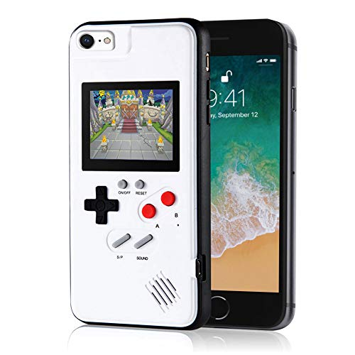 6 Game Case - Handheld Retro Game Console Phone Case, Compatible with iPhone 6/6s/7/8