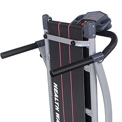 Fitnessclub Portable Folding Electric Motorized Treadmill Running Gym 500W Fitness Machine Black