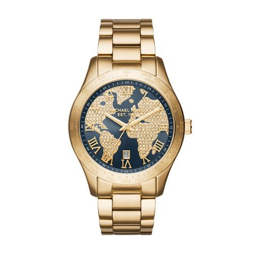 Michael Kors Women's Layton Gold-Tone Watch MK6243