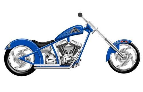 Revell Kustom Aces Wild Chopper product image