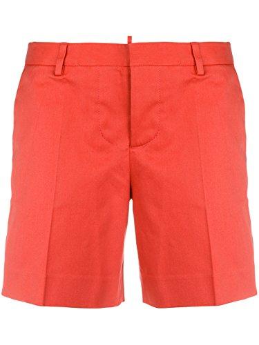 DSQUARED2 Women's S75MU0258S43575303 Red Cotton Shorts