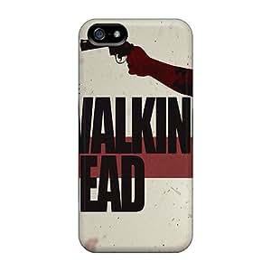 QxH30932uGMQ Faddish The Walking Dead Logo Cases Covers For Iphone 5/5s