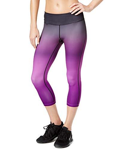 - Ideology Women's Cropped Ombré Training Leggings (S, Push It Purple)