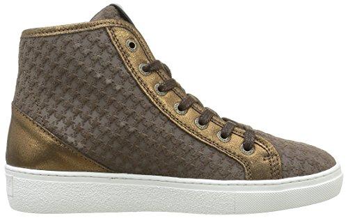 Gaastra Rio Mid Emb, Sneaker Alte Donna Oro (Gold (3700 Gold))