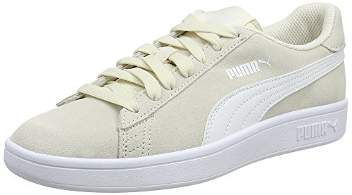 Beige White Basses Puma Birch Adulte Smash puma Mixte V2 Baskets qnY74U