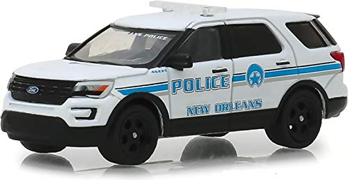 - Greenlight 42870-E Hot Pursuit Series 30 2016 Ford Police Interceptor Utility New Orleans, Louisiana Police 1:64 Scale