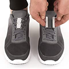 When the Zubits magnets are separated itâ€s as if you have no shoelaces at all, so you can easily slide into a wide open shoe. Then, just click the magnets together and thatâ€s it! Go for a run. Afterwards, just step on your heel and pop out ...