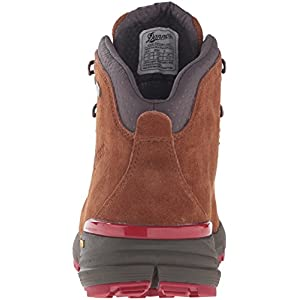 """Danner Men's Mountain 600 4.5"""" Hiking Boot, Brown/Red, 12 2E US"""