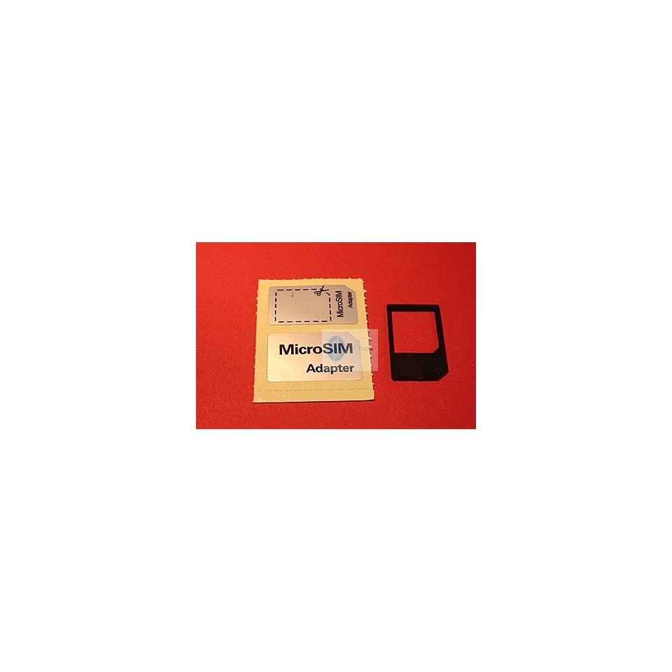 5403 NO CUT Micro Sim Card Adapter for iPad and iPhone 4 4G   12 Month Warranty  THT Trading