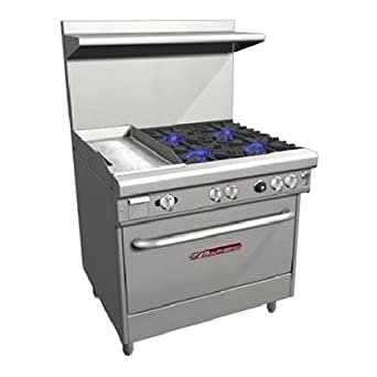 Southbend H4361D 1G 36quot Ultimate Restaurant Gas Electric Range W 4