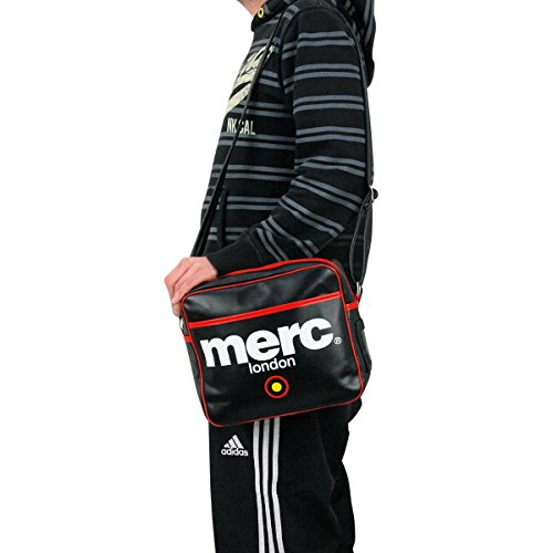 Merc Airline - Zuecos Unisex adulto Negro - negro