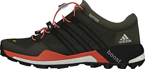 adidas Performance Damen Mountain Running Schuhe schwarz - grau - rosa