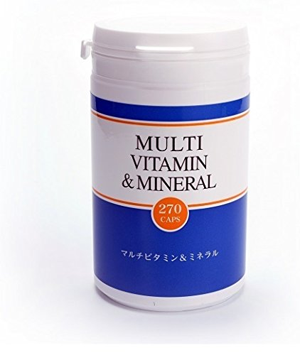 マルチビタミン&ミネラル 270カプセル 医療機関レベルのサプリメント B07CVDNQX8