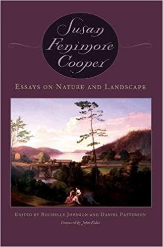 essays on nature and landscape susan cooper daniel patterson  essays on nature and landscape susan cooper daniel patterson rochelle johnson john elder 9780820324227 com books