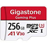 Gigastone 256GB Micro SD Card  Gaming Plus  Nintendo Switch Compatible  High Speed 100MB/s  4K Video Recording  Micro SDXC UHS-I A1 Class 10