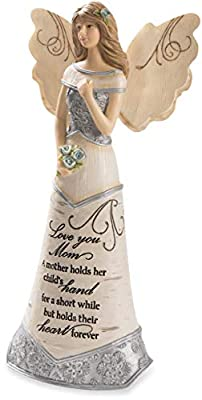 Pavilion - Love You Mom - 7.5 Inch Collectible Angel Figurine