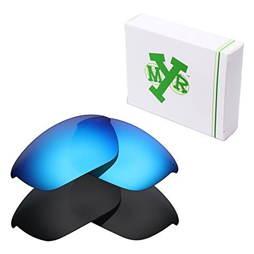 Mryok 2 Pair Polarized Replacement Lenses for Oakley Half Jacket 2.0 Sunglass - - Polarized Half Oakley Replacement Jacket Lenses 2.0