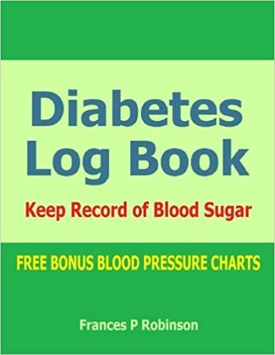 diabetes log book keep record of blood sugar in this diabetes log