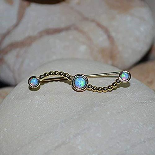 Minimalist Earrings Ear Sweep 2mm Blue Opal Ear Cuff Silver EAR CLIMBER Earring  Ear Pins Ear Wrap Earring Ear Crawler