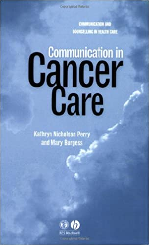 Communication in Cancer Care (Communication and Counselling in Health Care)