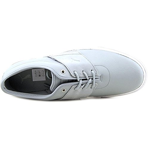 Nueva Puma El Ace Logia Nm1 la manera de las zapatillas de deporte Quarry-Gray Violet