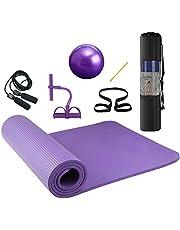 """Lixada Yoga Mat Non Slip Eco Vriendelijke Pilates Oefening Mat Fitness Gymnastiek Mat met Draagbare Sling voor Fitness & Hot Yoga 72 """"x 24"""""""