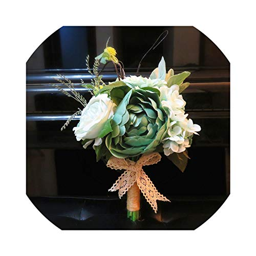 Wedding Bouquets Artificial Flowers Wedding for Bride Bridal Bouquet ZRF012,6