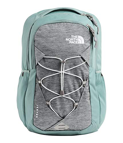 The North Face Women's Jester Backpack Mid Grey Light Heather/Trellis Green One Size
