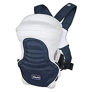 Chicco Ch79402-64 Soft & Dream Baby Carrier Blue Passion