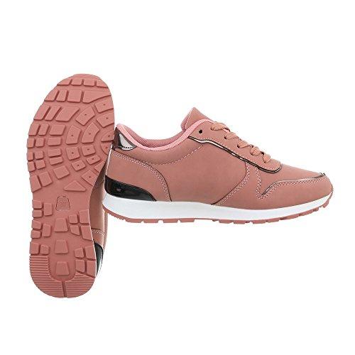 6 Zapatillas Bajas Ital Mujer Design Zapatos Zapatillas Plano Ab para Altrosa v7w16