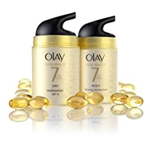 Olay Total Effects Moisturiser Day and Night Cream 37 ml - Duo Pack