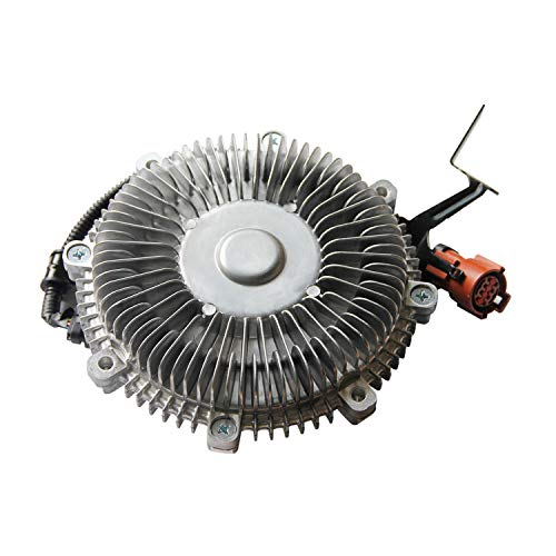 (Electronic 3266 Radiator Fan Clutch Engine Cooling Clutch for 2009 2010 Ford F-150 Expedition Lincoln Navigator 4.6L)