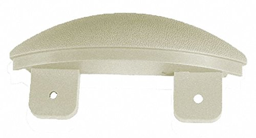 Eggshell End Cap, Screw In, Molded Plastic, Width 1-1/16'', Height 5'', Thickness 1-1/16''
