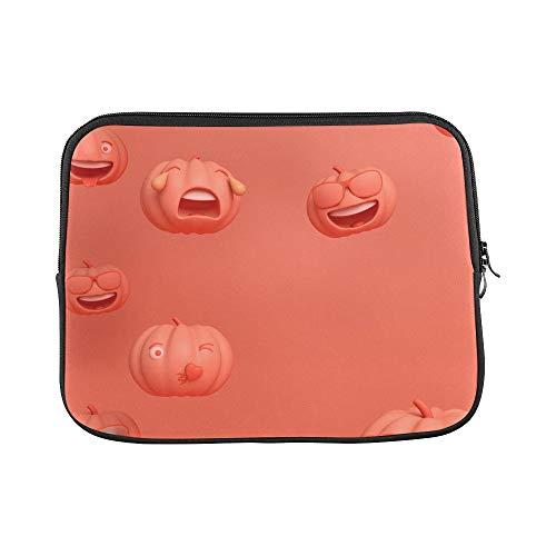Design Custom Pumpkin Emoticon Melon Fruit Vegetable Natural Funny Emoticon Pack Sleeve Soft Laptop Case Bag Pouch Skin for MacBook Air 11