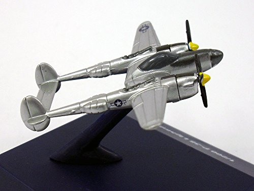 (2.5 Inch P-38 Lightning 1/200 Scale Diecast Metal Model)