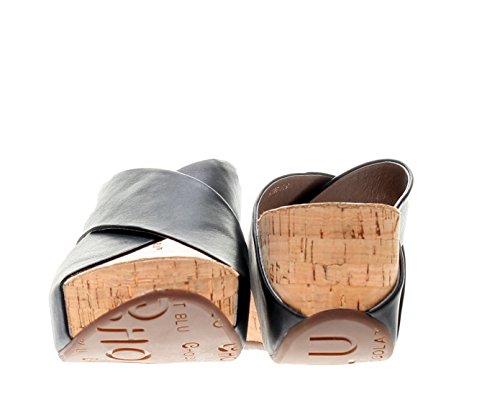 Chocolat Blu Womens Fördärvar Sandal Svart