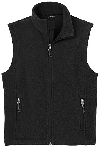 Joe's USA - Youth Soft and Cozy Fleece Vest in Youth Sizes XS-XL
