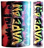 JWraps Vape On Graffiti Custom E-Cigarette Protective Vinyl Skin Wrap for Pioneer4you IPV5 MOD Vaporizer