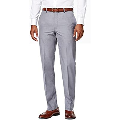 Calvin Klein Mens Pindot Slim Fit Dress Pants