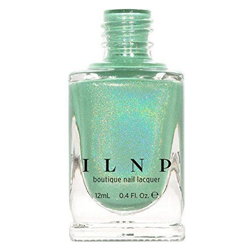 - ILNP Princeton - Refined Mint Green Holographic Nail Polish