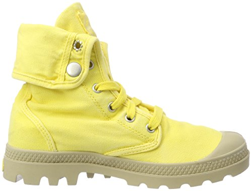 Palladium femme Baskets Grey mode yellow RxZwRqrPU
