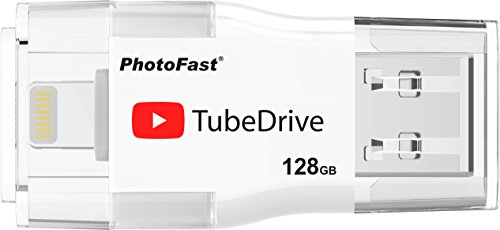 PhotoFast TubeDrive 128GB Capacity by TubeDrive