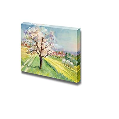 Canvas Prints Wall Art - Watercolor Landscape Collection - 24