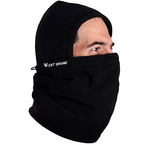 Limited Snowboard Jacket (West Biking Adjustable Thermal Cycling Bike Fleece Balaclava- Bicycle Face Mask Fleece Winter Hat Bike Face Neck Warmer)