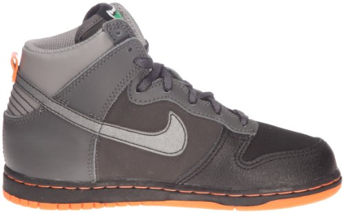 Nike Dunk High Nd (Ps) - Zapatillas de ante para niño Gris