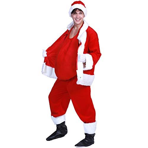 FantastCostumes Santa Claus Belly Christmas -