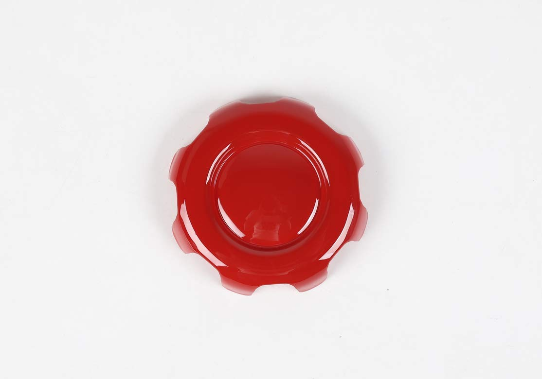 Red Highitem ABS Car Seat Adjustment Knob Decoration Cover Stickers Interior Accessories for Jeep Wrangler JL 2018 Up