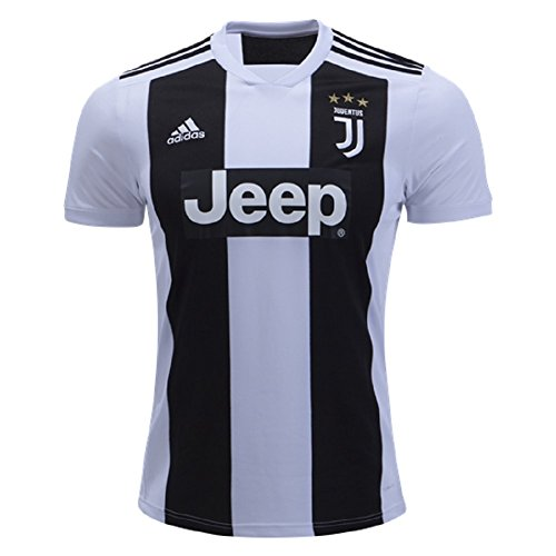adidas World Cup Soccer Juventus Soccer Youth Juventus FC Home Jersey, X-Large, Black ()
